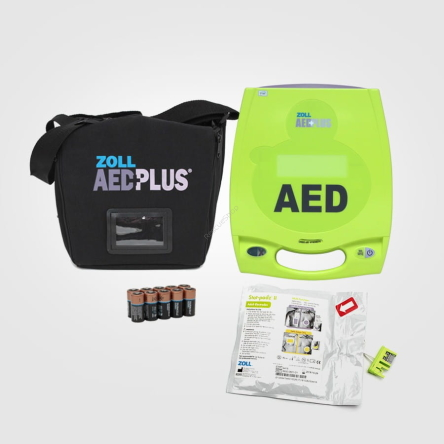 ZOLL AED Plus / elektr.  START Padz II
